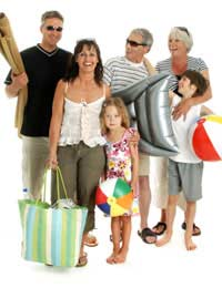 Family Holidays Package Beach Sun Summer